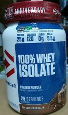 Dymatize 100% Whey Isolate Protein Powder - Classic Chocolate (1.76 lb/800g)