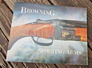 Vintage BROWNING   Gun Catalog. 1966 ?
