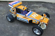 Vintage painted body and wing Team Asoociated Rc10 Classic box art