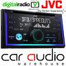 JVC KW-DB93BTE Double Din DAB Radio CD MP3 USB AUX & Bluetooth Car Stereo Player