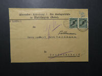 Germany 1925 Official Cover  - Z12195