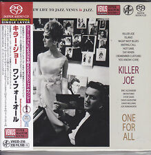 """One For All Killer Joe"" Japan Venus Records SACD Single Layer Audiophile CD New"