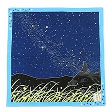Furoshiki- Japanese Wrapping Cloth (Traveling-cat : Milky way)