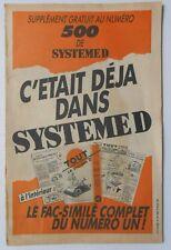 ► TOUT LE SYSTEME D N°1 - 1945 ( fac similé ) CYCLECAR A PEDALES