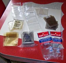 Lot of SPORTS CARD HOLDERS - Hinged Boxes, Card Sleeves... - Never Used!