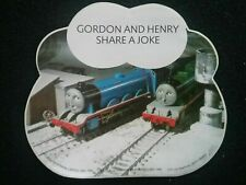THOMAS THE TANK ENGINE STICKER (GORDON AND HENRY) DOOR/WALL STICKER