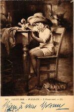 CPA Salon de 1908 WALHAIN - L'Oiseau mort (217621)