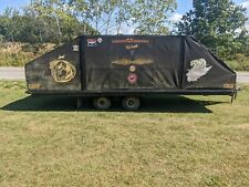 New Listing Snowmobile Enclosed Cargo Trailer With Ramps