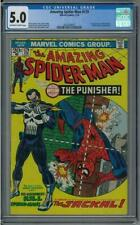 Amazing Spider-Man #129 CGC 5.0 (OW-W) 1st app Punisher and the Jackal