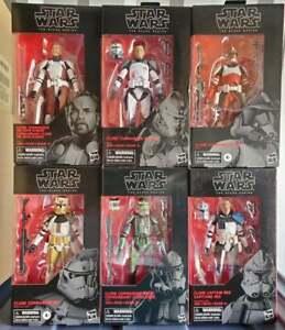 Star Wars Clone Black Series action figures