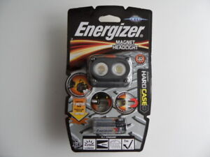 Lampe frontale  Energizer magnet headlight hard case 250 lumens