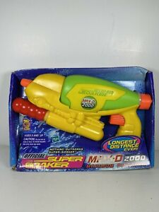 Brand New! Larami Official Super Soaker Max D 2000 Maximum Distance Water Pistol