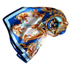 89024 Lorenzo Cana - Seidentuch 90 x 90 cm Seidensatin 100% Seide Paisley Hijab