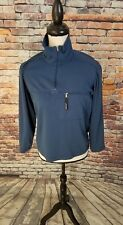 Patagonia Polartec Regulator Womens Blue Grid 1/4 Zip Pullover Fleece Jacket XS