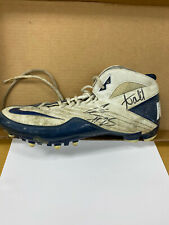 Chris Harris Jr. and Aqib Talib Autographed Cleat (Not Certified)