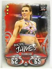 Slam Attax - #122 Mickie James-Live 2018