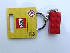 Lego Red brick (size 2x4) keyring - 850154