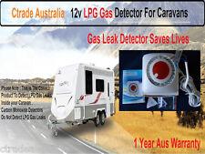 Caravan Lpg Gas Leak Detector 12v Lpg Gas Detector Rv ! Marine ! easy to install