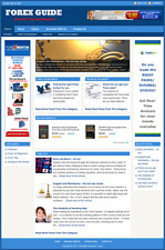 FOREX TRADING - Professionally Designed Affiliate Website - Free Installation