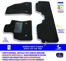 Tappetini Moquette Auto per Fiat 500L 2012> Tappeti bottoni Antiscivolo NO LOGO