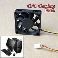 60mm 12V Internal Tower CPU Case Cooling Cooler Fan for Laptop Desktop Computer