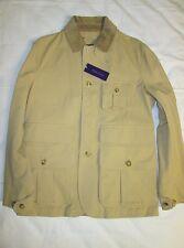 NWT Ralph Lauren Purple Label Mens Tan Coat Size L $2495