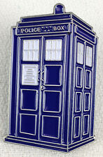 The TARDIS Doctor Who Science Fiction BBC TV Series Police Box - Enamel Pin