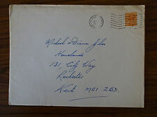 c1980 Hounslow Postmark & Stamp Cover: Christmas Card Addressed to Rochester