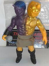 Frenzy Bros Sofubi 38 Barbarians Two Headed MOTU KO Vinyl Figure Japan Medicom