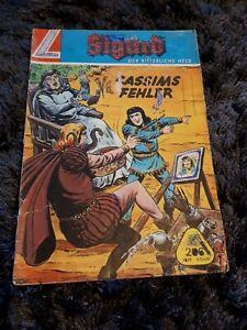 "SIGURD GB Nr. 206 ""Cassims Fehler"", Lehning Comic 60er Jahre"