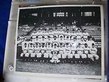 VINTAGE 8x10 Cleveland Indians Team Photo with Bob Feller