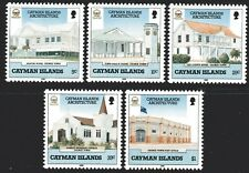 Cayman Islands 1989 Architecture set of 5 Mint Unhinged