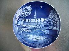 "Royal Copenhagen Porcelain B&G 7"" Jule-After Collector's Plate 1991"