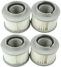 Mspa 4 Pack Filters Genuine Product For Inflatable Hot Tub Spas Fits All Models