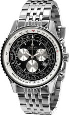 Louis XVI Men's Artagnan Silver/Black Stainless Steel SwissMade Quartz Watch