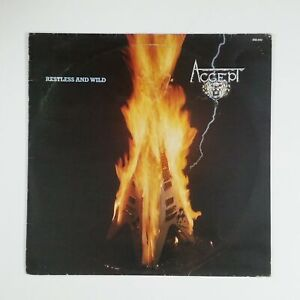 ACCEPT Restless And Wild 656042 STEMRA LP Vinyl VG+nr++ Cover VG+ 1982 Holland