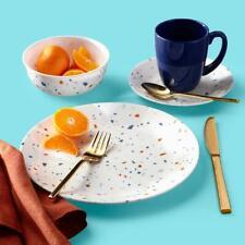 Corelle Signature Terrazzo 16-Piece Dinnerware Set, Dinning Kitchen