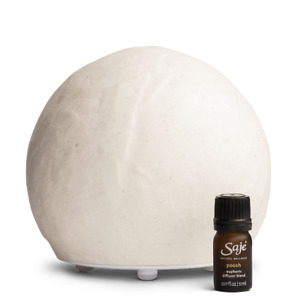 SAJE Positively Poosh White diffusers Poosh Diffuser Kit Aromatherapy RP $100