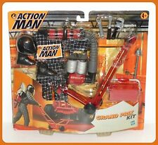 * HASBRO ACTION MAN 1999 * F1 GRAND PRIX PIT LANE SERVICE KIT * (OLD SHOP STOCK)