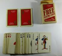 vintage Pipers 100 playing card by Waddingtons The House of Seagram
