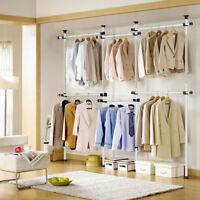 Zubehör für Kleiderständer Wandgarderobe Kleiderwagen Kleiderstange Textilregal