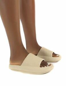 LADIES WOMENS ULTRA SOFT SUMMER SLIP ON MULE SLIDES SLIDERS SANDALS SLIPPERS
