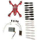 Battery Blade Motor Spare Parts Crash Pack for Hubsan X4 H107C Quadcopter Gift