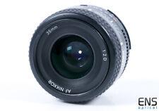 Nikon 35mm f/2 AF-D Nikkor Prime Lens - 338068