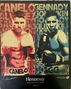 SAUL CANELO ALVAREZ vs GENNADY GGG GOLOVKIN PROMO Fight POSTER 18X22