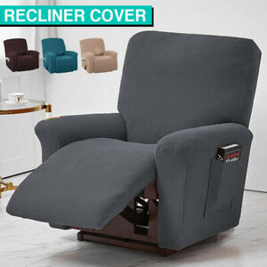 Stretch Recliner Chair Cover Anti Slip Soft Thick Sofa Couch Slipcover Protector