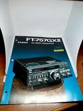 YAESU FT-757GXII BROCHURE ORIGINALE RADIO HF