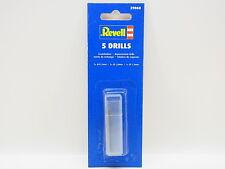 LOT 32911 | Revell 39068 5 Ersatzbohrer Handbohrer Drills für Modellbau NEU OVP