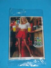 St Pauli Girl Beer 6 Card Promo Pack Neriah Davis Sealed Playboy Playmate RARE