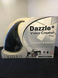 Dazzle DVC-107 Video Creator Plus HD Pinnacle USB VideoCapture Device NEW IN BOX